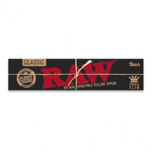 Mortalha RAW Black – King size slim