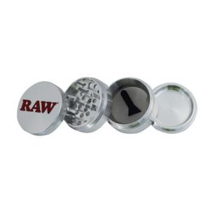 RAW Aluminum GRINDER – 56MM – 4 partes