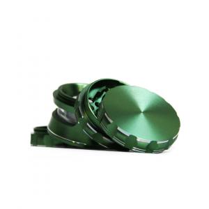 Grinder Fully Aluminium High – 4 partes / 63mm Green